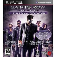 Saints Row The Third PS3 (99465) -