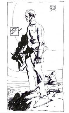[IT. 1990. Nicola MARI]   © Sergio BONELLI Editore   #BONELLI; #NicolaMARI, #NathanNever; #fantascienza, #sciencefiction, #scifi, #sf; #Asimov, #treleggi, #robotica; #adventure, #avventura; #drammatico, #drama...   #LaDiligenzaDelSapere [© #MaurizioCACCIATORE].