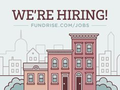 You heard right. Fundrise is hiring an interaction designer and a software engineer - http://fundrise.com/jobs. Also wanted to take this opportunity to do a fun illustration study and explore what ...
