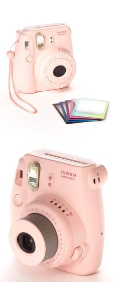 Fujiflim Instax Mini 8 Camera & Polaroid Film Set // so fun to have instant photos! #product_design