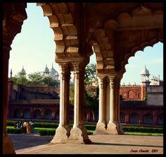 "ÂGRÂ...le ""Fort Rouge"".... #India #Castle #WorldHeritage"