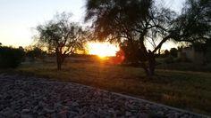Got to love sunrises during a bike ride