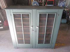 1800s Primitive-Antique Pie Safe/Cabinet-Jelly Cupboard