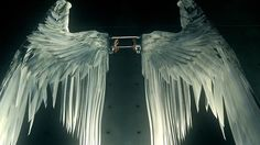 Lucifer tv show - wings - angel
