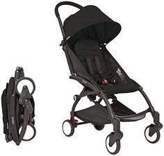 Babyzen YOYO Stroller  Black  Black by Baby Zen