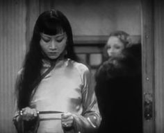 Anna May Wong with Marlene Dietrich in Shanghai Express(1932)