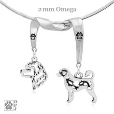 Portuguese Water Dog Jewelry Portuguese Water Dog Necklace PWD Mom