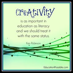 Creativity #educationpossible