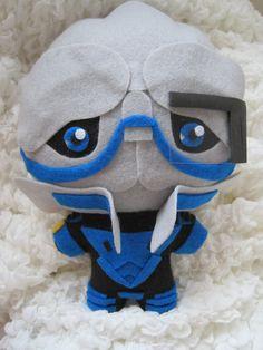 Mass Effect Chibi Garrus Vakarian Plush