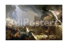 The Course of Empire - Destruction Landscapes Giclee Print - 61 x 41 cm