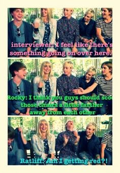 """""""Am I getting red?!"""" Haha yes ell you were // Rydellington"""