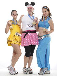Kristin Badillo, Katie Catterfield, Jessica Long (L-R)  Advantage of Jasmine: pants  Disadvantage: Exposed Midriff