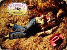 Madonna 2000 Music Original Promo Poster