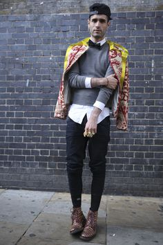 That what we call matador chic #street #bricklane #smart