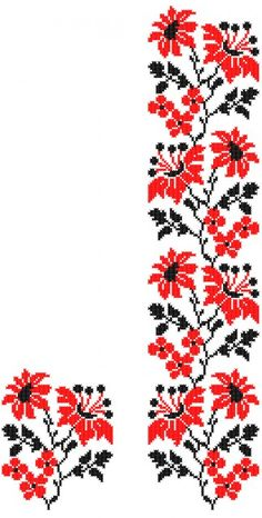 FL240 Cross Stitch Bookmarks, Cross Stitch Rose, Cross Stitch Borders, Cross Stitch Samplers, Cross Stitch Designs, Cross Stitching, Cross Stitch Patterns, Hardanger Embroidery, Cross Stitch Embroidery