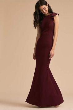 Eliot #Dress #maroon #wedding #bridesmaids #bride afflink
