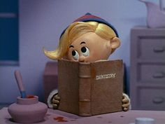 hermie the elf  | on the other side of town hermey the elf is holding up the production ...