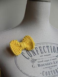 Tuto noeud tricot