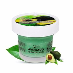 Avocado Yogurt Facial Mask Whitening Moisturizing Anti-aging Anti-wrinkle Face Mask Acne Blackhead Mask Face Care Hot Sale
