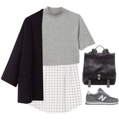 """Running to School"" by simpleandyoung on Polyvore"