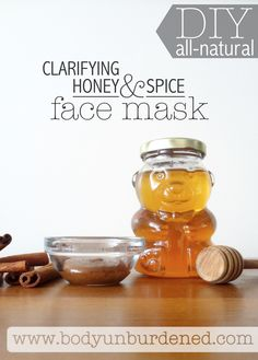 This DIY all-natural clarifying honey and spice face wash is simple yet a miracle worker! Great for acne-prone skin since honey soothes and kills acne-causing bacteria. [natural beauty, skincare, and remedy]