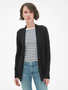 67968e8f800f0 NWT - Misses GAP Gap Long True Soft Open Front Black Cardigan Sweater -  Large  fashion  clothing  shoes  accessories  womensclothing  sweaters  (ebay link)