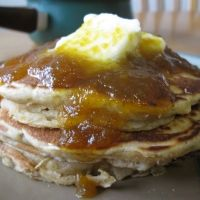 Pumpkin Pancakes W Pumpkin Syrup Recipe. didn't try the pancakes but the syrup is awesome