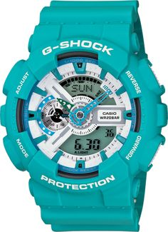 Shop men's and women's digital watches from G-SHOCK. G-SHOCK blends bold style with the most durable digital and analog-digital watches in the industry. G Shock Watches Mens, G Shock Men, Sport Watches, Cool Watches, Watches For Men, Wrist Watches, Men's Watches, Jewelry Watches, Luxury Watches