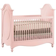 Stanely Young America Mix & Match Crib #nursery #furniture #pink #cribs @Layla Grayce