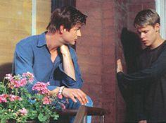 Gale Harold and Randy Harrison @ QAF as Brian Kinney and Justin Taylor | da Randy Harrison Fans Club
