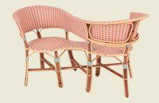 La maison DRUCKER conçoit et crée depuis 1885 du mobilier en rotin : Chaises en rotin, fauteuils en rotin, banquettes en rotin sur mesure ou en collection.