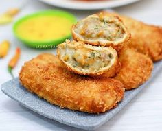 Bread Recipes, Snack Recipes, Cooking Recipes, Snacks, Fry S, Recipe Details, Indonesian Food, Appetisers, Kitchen Recipes