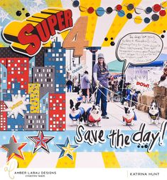 Super 4 Save the Day-Hybrid by KatrinaHunt13 at the Lilypad