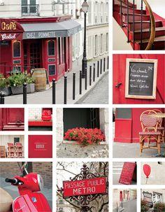 Paris in Color, Ryan Air Magazine via @littlebrownpen