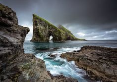 This is a guide of what to know before you visit the Faroe Islands. From driving info to tourism tips, read this before you travel to the Faroe Islands. Landscape Walls, Beach Landscape, Grey Skies, Outdoor Photos, Faroe Islands, Hd Backgrounds, Cool Wallpaper, Heaven Wallpaper, 1080p Wallpaper