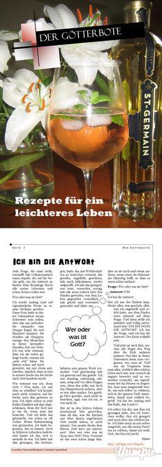 Rezepte für ein leichteres Leben - Magazine with 14 pages: