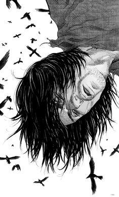 themostenjoyableday: The art of Vagabond by Takehiko Inoue Manga Artist, Artist Art, Vagabond Manga, Inoue Takehiko, Manga Anime, Anime Art, Sun Ken Rock, Samurai Art, Character Poses