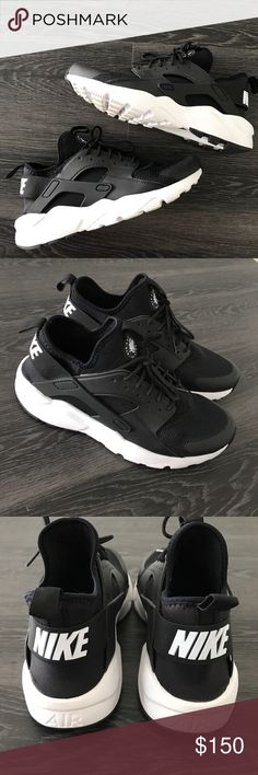 Nike Huaraches Men's size 7.5 (I wear size 9 in women's and these fit me perfect) ... Worn once! In excellent condition!   ❤️ Reasonable offers will be considered (please use the offer button to negotiate).  ✅ Bundle to save on shipping costs! ♏️ Lower prices on Merc! Find my page by searching for @heather_lynn.  ❌ NO TRADES! ❌ Lowball offers will be ignored and deleted.  Closet Tags: VS, Victoria's Secret, Sport, PINK, Nike, Follow Me, Follow Game Nike Shoes Sneakers