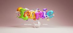 Afbeeldingsresultaat voor 3d typography