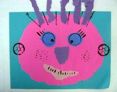 kinder prints. wildthings? monsters? alien?