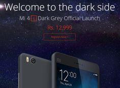 Mi 4i Dark Grey