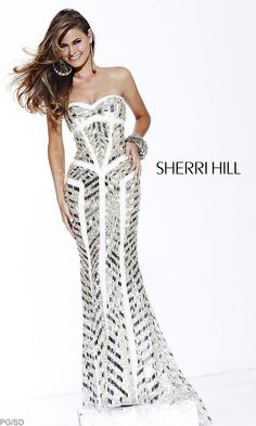 Long Strapless Sweetheart Embellished $698