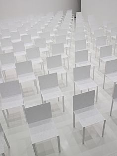 Paper Chair - designed by Japanese architect Junya Ishigami  (Source: jpdesign.org, via barkarmaa)