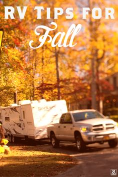 RV Tips for Fall from KOA - Experience a new season of #KOACamping