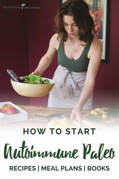 How to start the Autoimmune Paleo Protocol with food lists recipes resources and more. The Autoimmune Paleo Protocol is gluten-free dairy-free egg-free nut-free seed-free and nightshade-free to promote recovery from autoimmune diseases. Paleo Autoinmune, Dieta Paleo, How To Eat Paleo, Paleo Recipes, Paleo Food, Healthy Eating, Clean Eating, Dairy Free Eggs, Egg Free