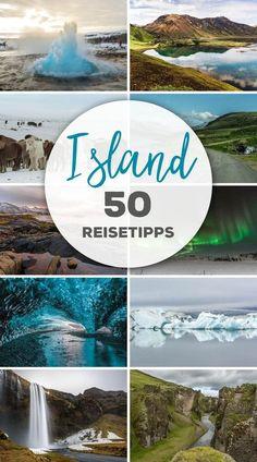 Über 50 Reisetipps für Deine individuelle Reise nach Island. Vom Golden Circle, über den einsamen Norden rund um den Myvatn, zu den mächtigen Wasserfällen Dettifoss, Skogafoss und Seljalandsfoss und zur Gletscherlagune Jökulsarlon. Mit unseren Tipps kannst Du individuell und preisgünstig Island bereisen – im Sommer wie Winter! #Island #Reiseguide #Iceland
