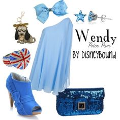 Disney Bound  wendy  peter pan