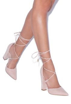 35971639760 All the sexiness of a pointed-toe pump with the stability and comfort of a