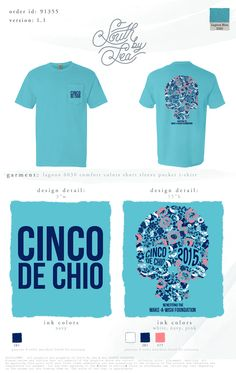 Chi Omega Cinco-De-ChiO Benefitting the Make-a-Wish Foundation #southbysea #philanthropy #makeawish