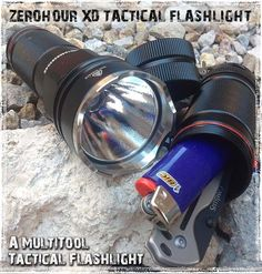 ZeroHour XD Tactical Flashlight Review: The Flashlight that thinks it's a Multitool